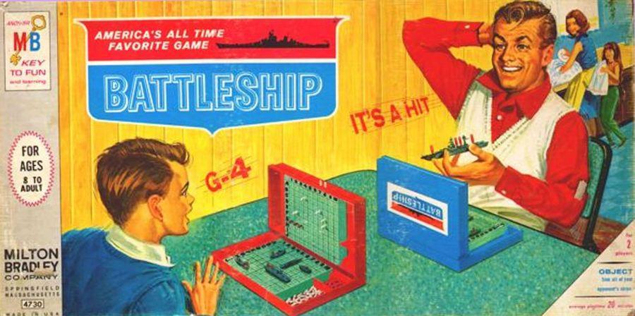 1967 Battleship Box
