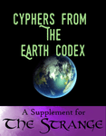 RPG Item: Cyphers From The Earth Codex