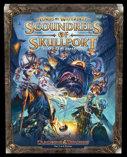 Board Game: Lords of Waterdeep: Scoundrels of Skullport