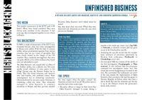RPG Item: Unfinished Business