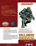 RPG Item: Villains Abound: Anaconda