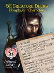 RPG Item: 5e Creature Decks: Nonplayer Characters