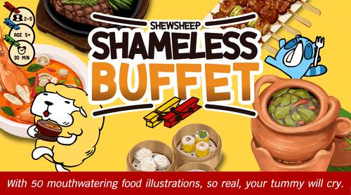 Board Game: Shewsheep Shameless Buffet
