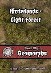 RPG Item: Heroic Maps Geomorphs: Hinterlands - Light Forest
