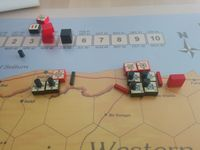 1940 Scenario Turn 3 (Nov): British closing the trap on the Italian Army