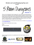 RPG Item: 5 Room Dungeons: Volume 11