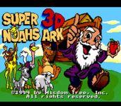 Video Game: Super 3D Noah's Ark
