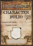 RPG Item: Character Folio