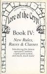 RPG Item: Book IV: New Rules, Races & Classes