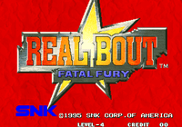 Video Game: Real Bout Fatal Fury