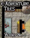 RPG Item: e-Adventure Tiles: Weekly No. 1