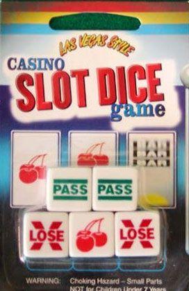 Board Game: Las Vegas Style Casino Slot Dice Game