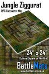 "RPG Item: Jungle Ziggurat 24"" x 24"" RPG Encounter Map"