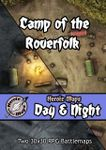 RPG Item: Heroic Maps Day & Night: Camp of the Roverfolk