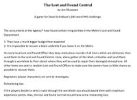 RPG Item: The Lost and Found Central