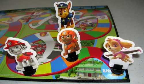 Board Game: Paw Patrol Adventure Game
