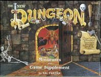 Board Game: The New Dungeon: Miniatures and Game Supplement