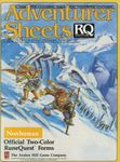RPG Item: Adventurer Sheets: Nonhuman