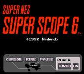 Video Game: Super Scope 6