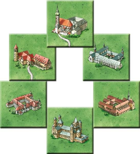 Board Game: Carcassonne: Klöster in Deutschland