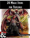 RPG Item: 20 Magic Items for Tieflings