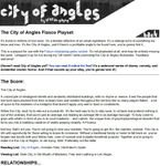 RPG Item: City of Angles