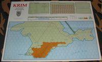 Board Game: Krim: von Manstein's Battles for Sevastopol, 1941-1942