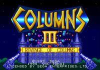 Video Game: Columns III: Revenge of Columns
