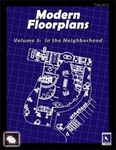 RPG Item: Modern Floorplans Volume 3: In the Neighborhood