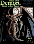 RPG Item: Worlds of Pulp: Demon Construction Tables