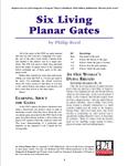 RPG Item: Six Living Planar Gates