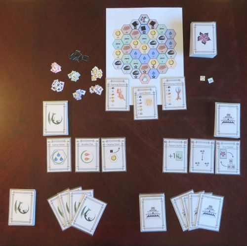 Board Game: The Dragon and the Emperor