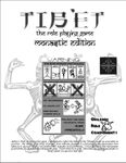 RPG Item: Tibet the Role Playing Game: Monastic Edition