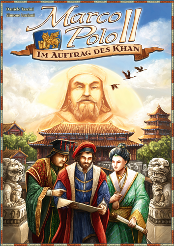 Board Game: Marco Polo II: In the Service of the Khan