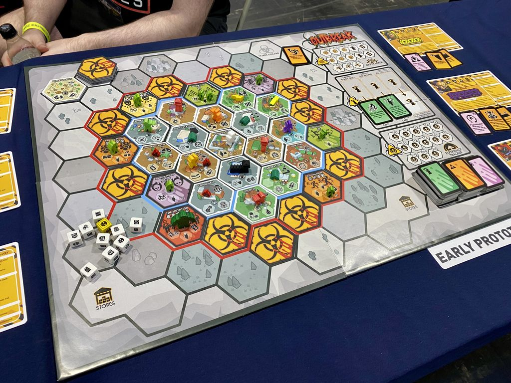 Board Game: Outbreak