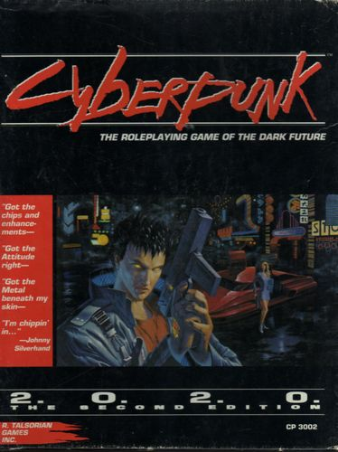 RPG Item: Cyberpunk 2020