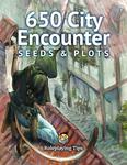 RPG Item: 650 Fantasy City Encounter Seeds & Plots