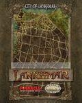 RPG Item: Lankhmar: City of Lankhmar Map