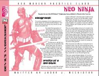RPG Item: Neo Ninja