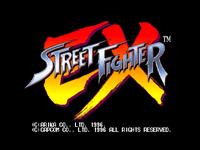 Video Game: Street Fighter EX