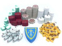 Board Game Accessory: Orléans: Resource Upgrade Kit