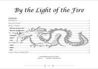RPG Item: By the Light of the Fire