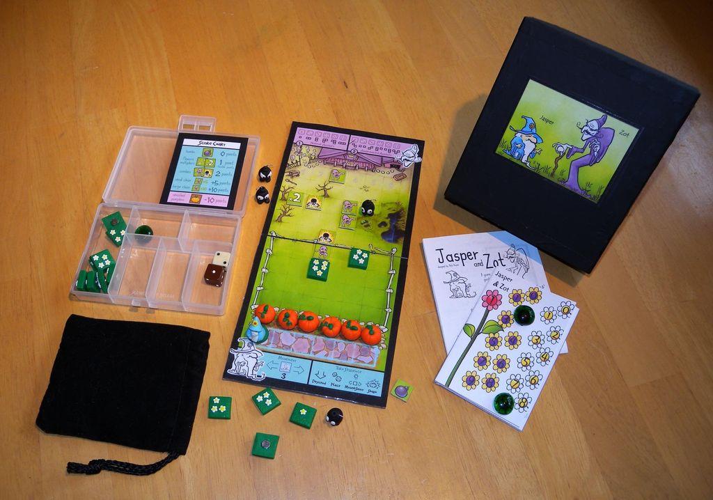 Board Game: Jasper and Zot