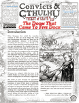 RPG Item: Convicts & Cthulhu: Ticket of Leave #10: The Doom That Came to Five Dock