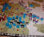 I Mar 45: The instant the weather clears, the Allies blitz through Darmstadt and encircle Berlin, putting pretty much EVERYTHING out of supply.
