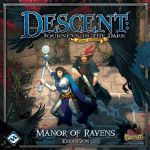 Board Game: Descent: Journeys in the Dark (Second Edition) – Manor of Ravens