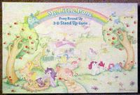 Board Game: My Little Pony Pony Round Up 3-D Stand Up Game