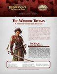RPG Item: The Aden Gazette Issue No. 12: The Warrior Totems (Savage Worlds)
