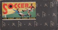 Board Game: Soccer: The Great New Card Game
