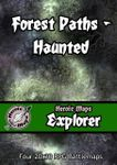 RPG Item: Heroic Maps Explorer: Forest Paths: Haunted